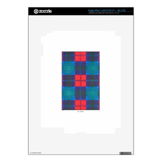 LINDSAY FAMILY TARTAN iPad 3 SKINS