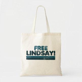 Lindsay libre bolsa tela barata