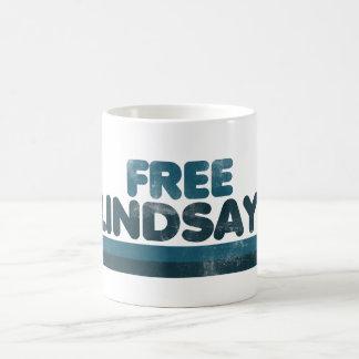 Lindsay libre taza