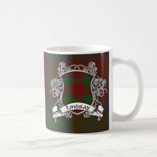 Lindsay Tartan Shield Classic White Coffee Mug