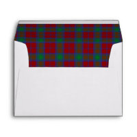 Lindsay Tartan Wedding Envelopes