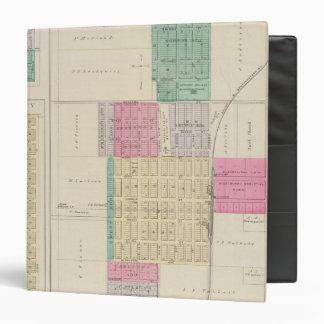 "Lindsborg, rey City, Roxbury, Kansas Carpeta 1 1/2"""