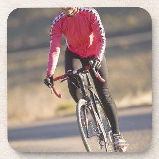Lindsey Bishop road biking Boulder Colorado Drink Coasters