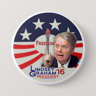 Lindsey Graham for President 2016 Pinback Button