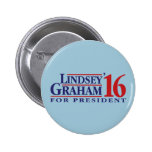 Lindsey Graham for President 2 Inch Round Button