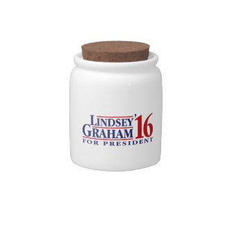 Lindsey Graham for President Candy Jars