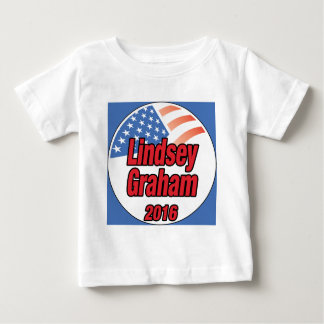 Lindsey Graham for president in 2016 Baby T-Shirt