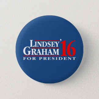 Lindsey Graham for President Pinback Button