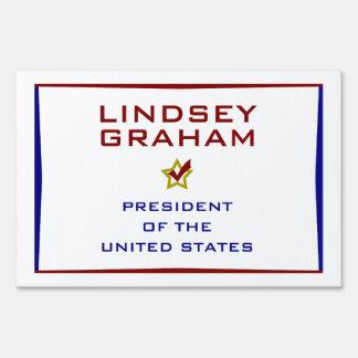 Lindsey Graham for President USA Sign