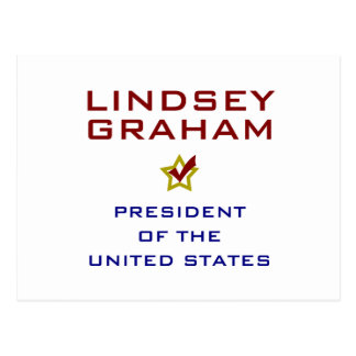 Lindsey Graham para el presidente los E.E.U.U. Tarjeta Postal