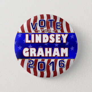 Lindsey Graham President 2016 Election Republican Button
