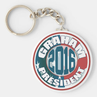 Lindsey Graham President 2016 Basic Round Button Keychain