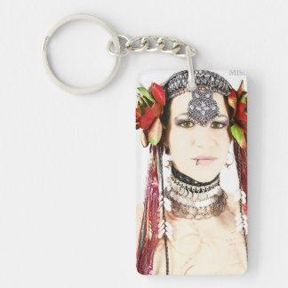 Lindsey Little one Double-Sided Rectangular Acrylic Keychain