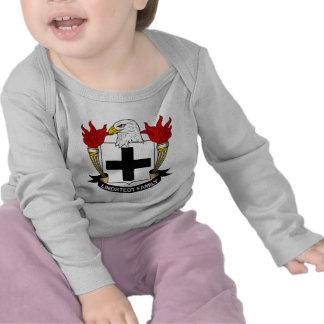 Lindstedt Family Crest Tee Shirts