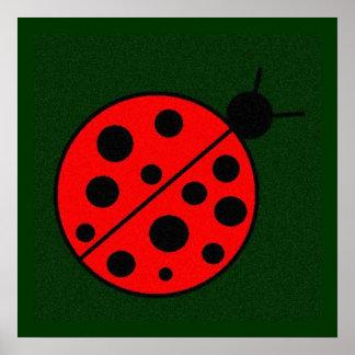 Lindsy Ladybug Poster