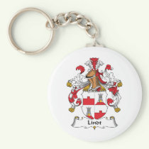 Lindt Family Crest Keychain
