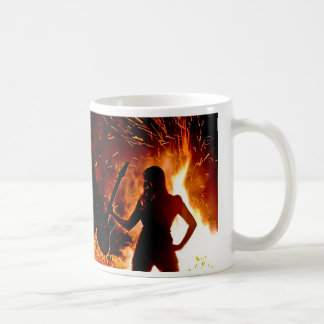 """Lindy Day """"Live Your Fire"""" mug"""
