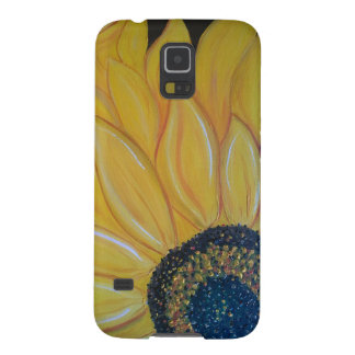 Line A SunFlower Galaxy S5 Covers