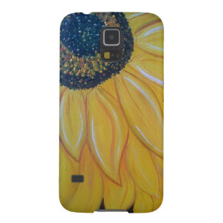 Line A SunFlower Left Case For Galaxy S5
