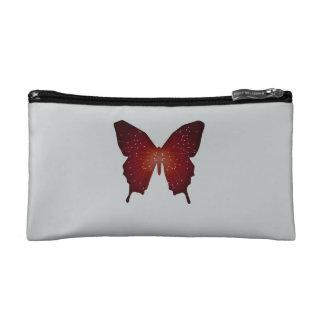 Line Art Butterfly Makeup Bag
