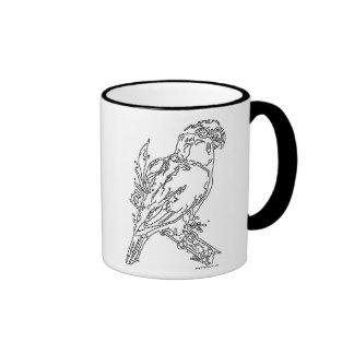 Line Art - Caique Ringer Coffee Mug