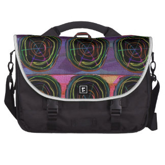 Line Art Circles Round Spark Abstract Elegant Gift Laptop Bag