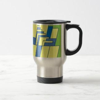 Line Art Illustration Travel Mug