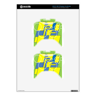 Line Art Illustration Xbox 360 Controller Decal
