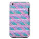Line Art in Pink and Teal iPod Case-Mate Case