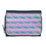 Line Art in Pink and Teal Wallets