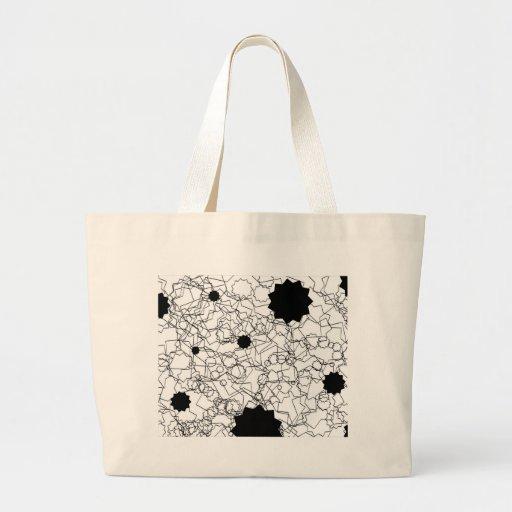 Line Art Pencil Sketch Abstract Design Draw Paper Bag