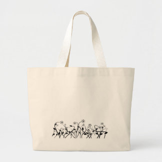 Line Art Pencil Sketch Abstract Design Draw Paper Tote Bags
