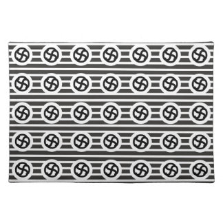 Line Art Pencil Sketch Abstract Design Draw Paper Placemats