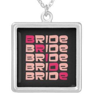 Line Bride Pendant Jewelry necklace