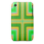 Line Cross pattern iPhone 3 Cases