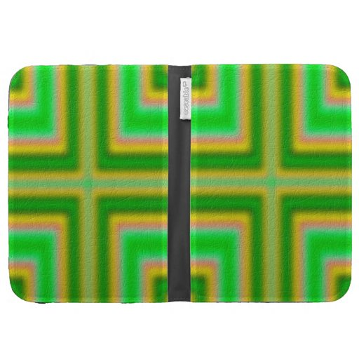 Line Cross pattern Kindle Cases