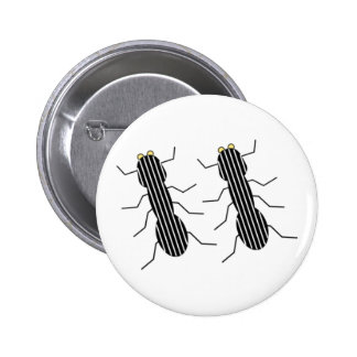 Line Dance (Lined Ants) Button