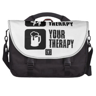 line dance my therapy commuter bags
