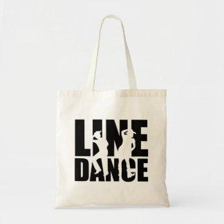 Line dance tote bag