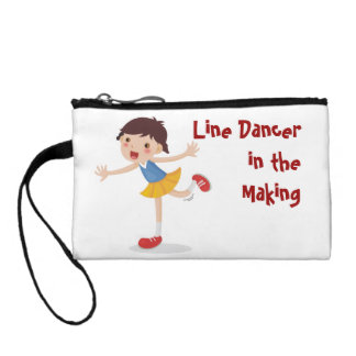 Line Dancer in the Making! - Girl Coin Wallet