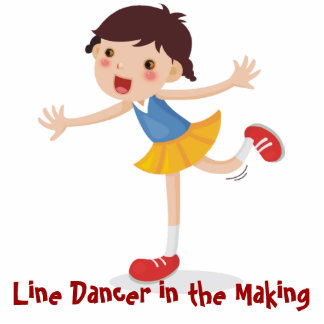 Line Dancer in the Making! - Girl Photo Cut Out