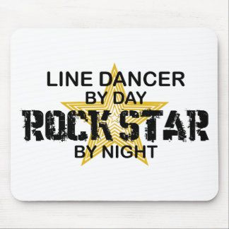 Line Dancer Rock Star by Night Mouse Pad
