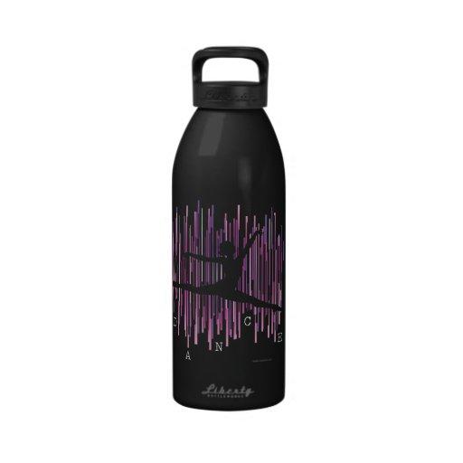 Line Dancer v4 Reusable Water Bottle
