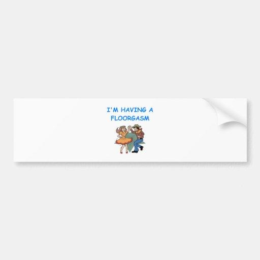 line dancing car bumper sticker