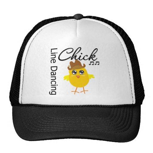 Line Dancing Chick Mesh Hats