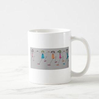 line dancing chicks coffee mug