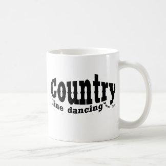 line dancing country coffee mugs