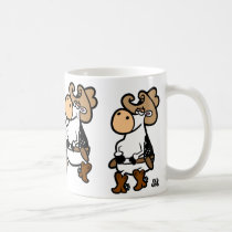 Line Dancing Cows Coffee Mug