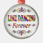 Line Dancing Forever Christmas Ornament