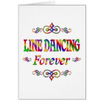 LINE DANCING FOREVER GREETING CARDS